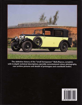 Rolls-Royce 20HP, 20/25, 25/30 and Wraith In Detail 1922 - 1939