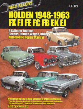 Holden 48-215, FJ, FE, FC, FB, EK, EJ Series 1948 - 1963 Workshop Manual