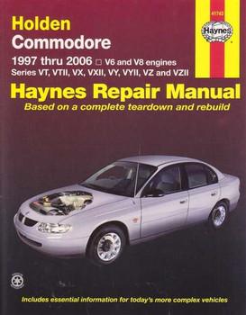 Holden Commodore VT, VX, VY, VZ Series V6 and V8 1997 - 2006 Workshop Manual