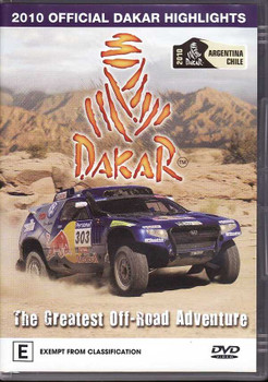 2010 Official Dakar Highlights: The Greatest Off-Road Adventure DVD