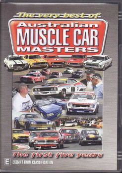 The Very Best of Australian Muscle Car Masters: The First Five Years DVD