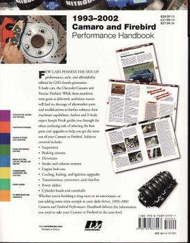 1993 - 2002 Camaro And Firebird Performance Handbook