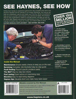Ford Ka   Workshop Manual