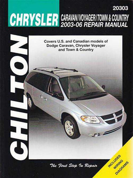 Chrysler Caravan, Voyager, Town and Country 2003 - 2006 Workshop Manual