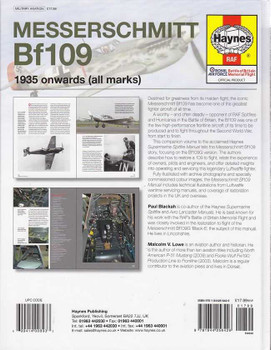 Messerschmitt Bf109 1935 onwards (all marks) Workshop Manual