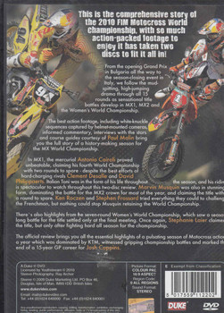 MX10 Official Motocross World Championship Review 2010 DVD  - back