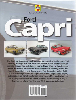 Ford Capri: Haynes Enthusiast Guide