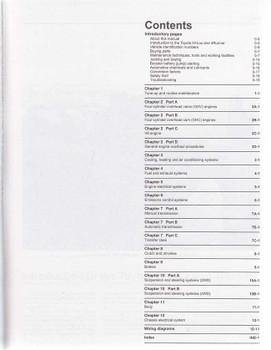 Toyota Hi-Lux 4 Runner RN, YN, VZN Series, Petrol 1979 - 1997 Workshop Manual cont