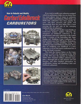 How to Rebuild and Modify Carter / Edelbrock Carburetors
