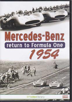 Mercedes-Benz Return to Formula One 1954 DVD