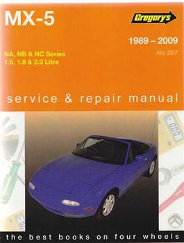 Mazda MX-5 NA, NB, NC Series 1.6, 1.8, 2.0 L 1989 - 2009 Workshop Manual
