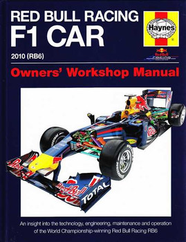 Red Bull Racing F1 Car 2010 (RB6) Owners' Workshop Manual