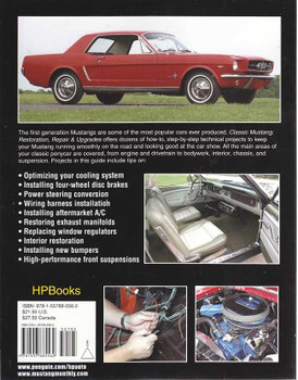 Classic Mustang: Restoration, Repair & Upgrades 1965 - 1973 Models