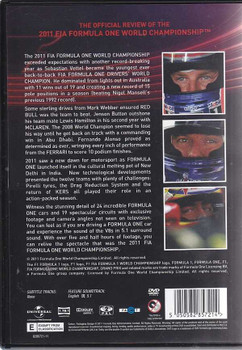 Formula One 2011 The Official Review DVD
