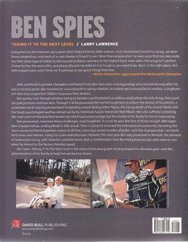 Ben Spies Taking It To the Next Level