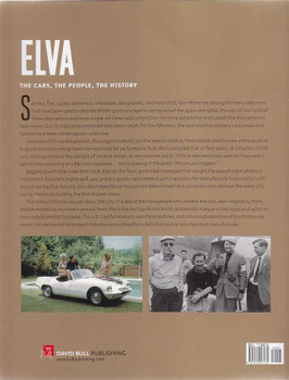 Elva The Cars, The People, The History