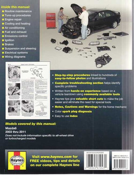 Mazda 6 2003 - 2011 Workshop Manual