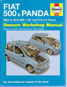 Fiat 500 & Panda 2004 - 2012 Petrol, Diesel Workshop Manual
