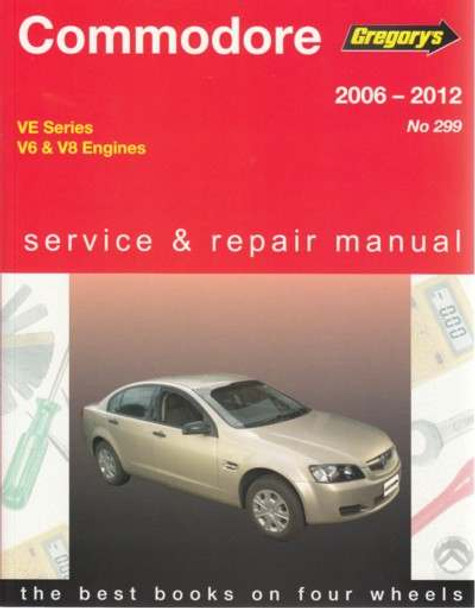 buy holden commodore ve series v6 v8 2006 2012 workshop manual rh automotobookshop com au 2014 Holden Commodore Australian Holden Commodore