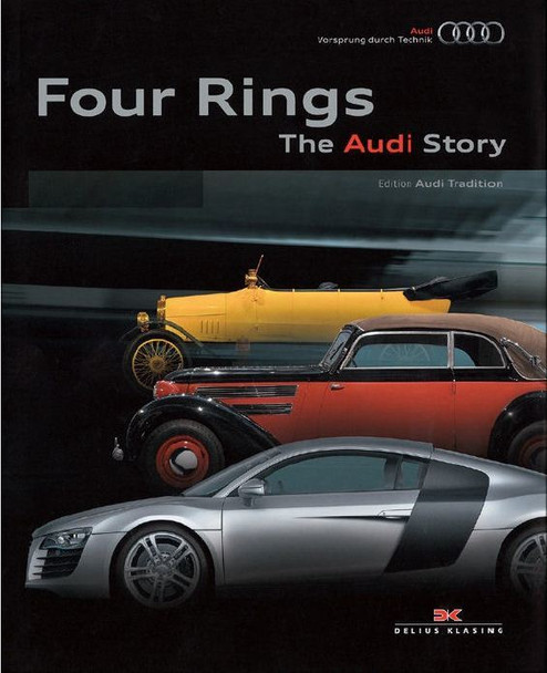Four Rings The Audi Story (9783768826747)