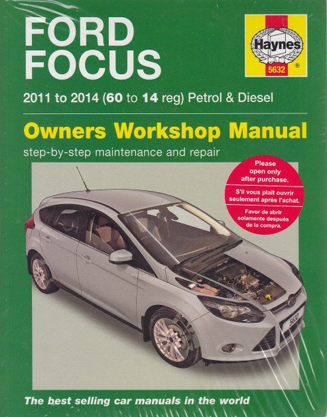 ford focus petrol 1 0 1 6 diesel 1 6 litre 2011 2014 workshop rh automotobookshop com au 2010 Ford Focus Manual 2010 Ford Focus Manual