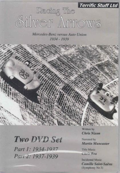 Racing The Silver Arrows: Mercedes-Benz versus Auto Union 1934 - 1939 2-disc DVD Set  - front