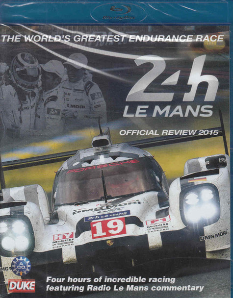 Le Mans 2015 The Official Review Bluray - front