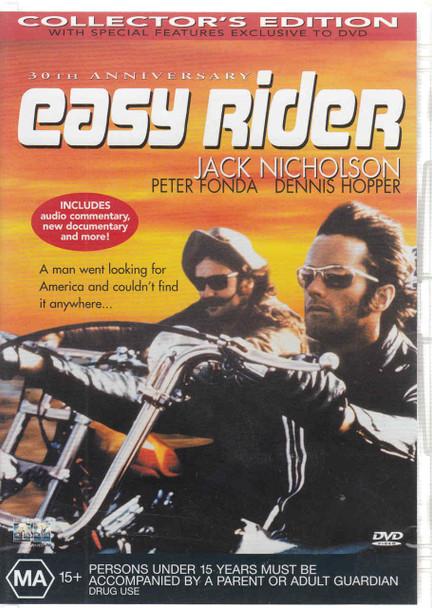 Easy Rider (Jack Nicholson, Peter Fond) DVD