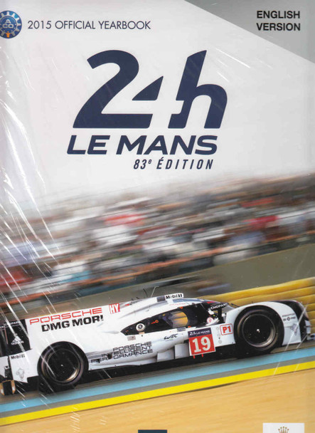 Le Mans 24 Hours 2015 Yearbook  - front