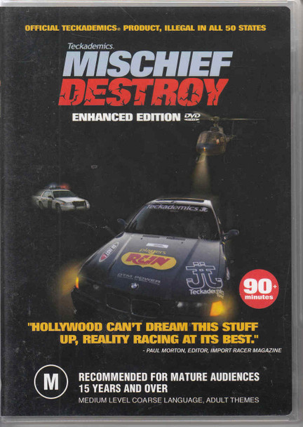 Teckademics Mischief Destroy Enhanced Edition DVD