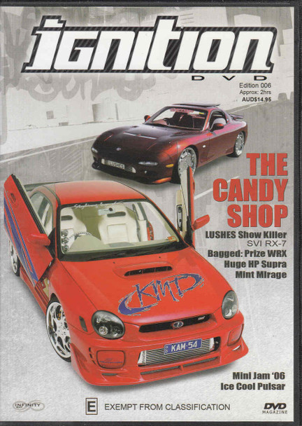 Ignition Edition 006 The Candy Shop Magazine DVD