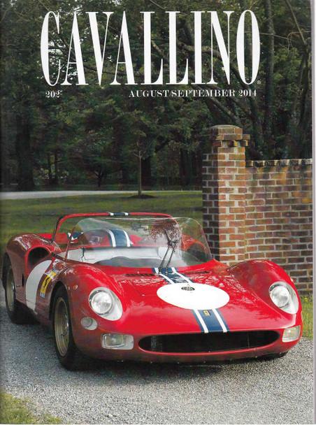 Cavallino The Enthusiast's Magazine of Ferrari Number 202 August / September 2014 (CAV202)