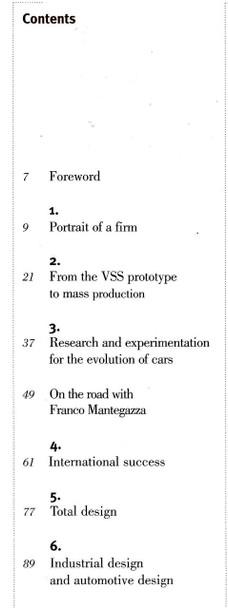 Franco Mantegazza I. DE. A Institute (Car Men Series No 7) (978887960108) - cont