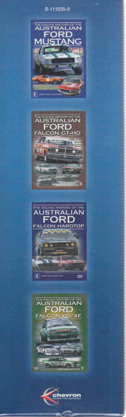 Racing History Of The Australian Ford 1965 - 1984 4 DVD Gift Set (9340601000612)