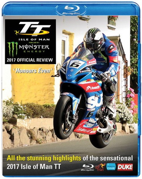 TT 2017 Isle Of Man Official Review Bluray (5017559129903)