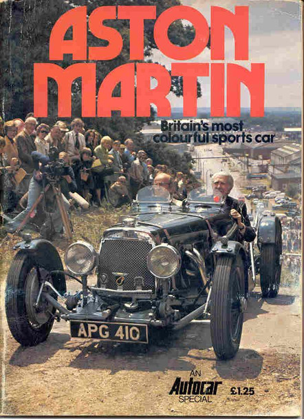 Aston Martin Britain's Most Colourful Sportscar (Autocar Spevial)