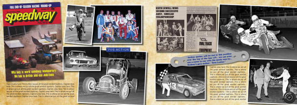 Speedway Action - Australian Oval Track Racing 1960 - 1990