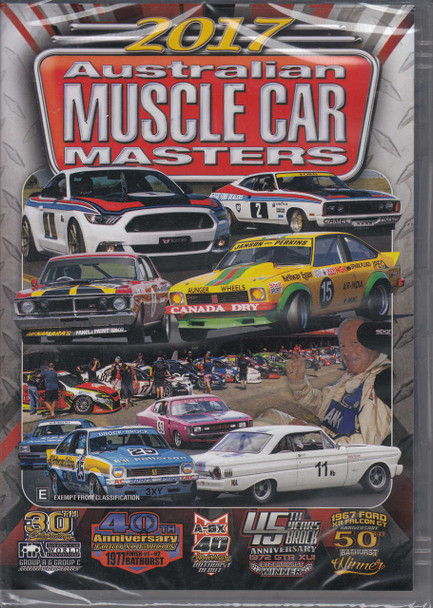 2017 Australian Muscle Car Masters DVD