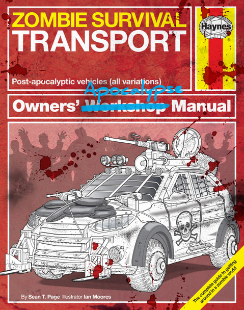 Zombie Survival Transport Haynes Owners' Apocalypse Workshop Manual