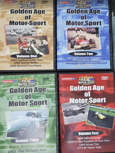 Golden Age of Motorsport (4 DVD Set)