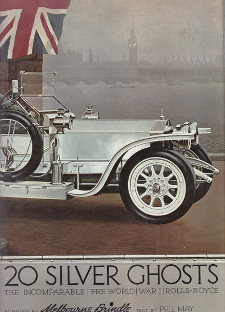 20 Silver Ghosts - The Incomparable Pre World War 1 Rolls-Royce