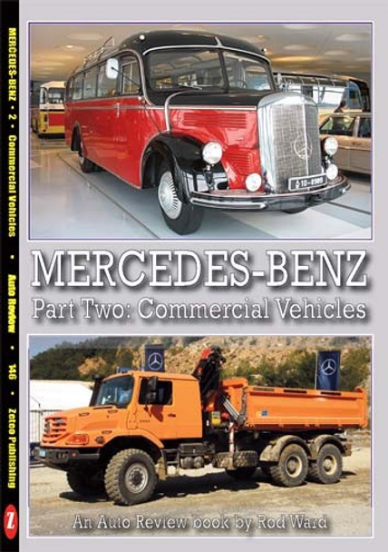 Mercedes-Benz part Two - Commercial Vehicles - An Auto Review book by Rod Ward (Auto Review No.146) (9781854821453)