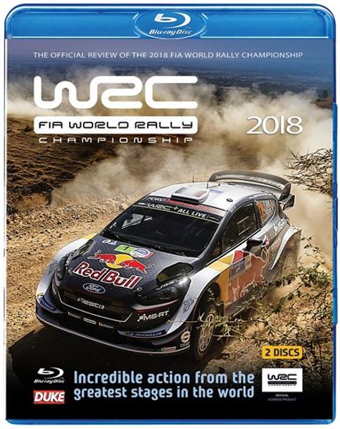 WRC FIA World Rally Championship 2018 Blu-ray
