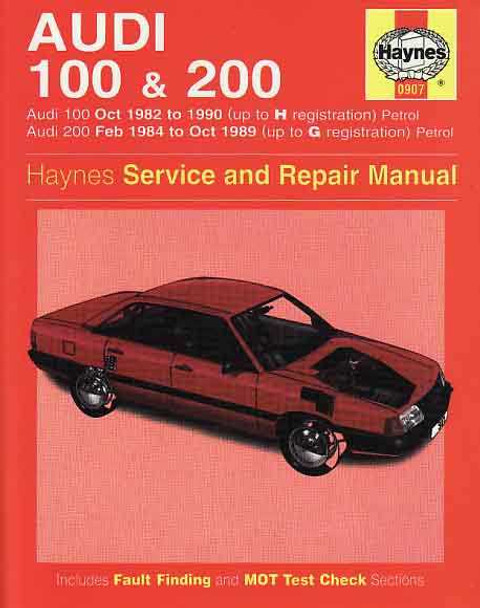audi 100 amp 200 1982 1990 repair manual rh automotobookshop com au audi 100 workshop manual free download audi 100 c4 service manual pdf