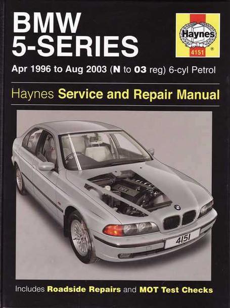 Bmw shop manual service repair book e39 97-03 5-series e-39   ebay.