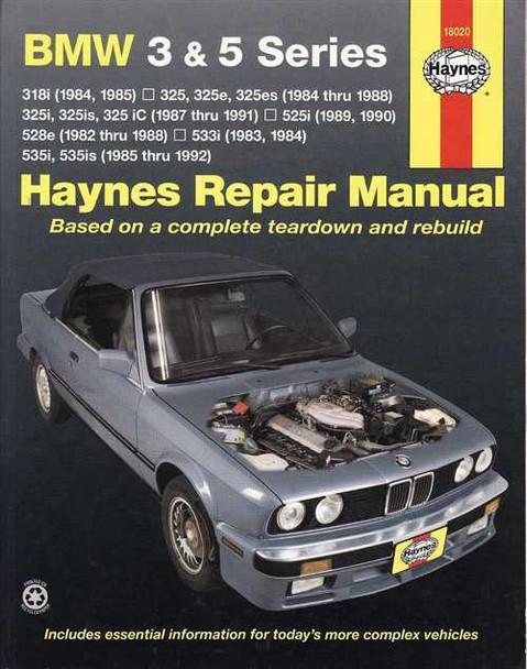 bmw 3 series e30 and 5 series e28 e34 1982 1992 workshop manual rh automotobookshop com au BMW E38 BMW E39