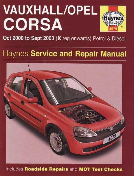 holden barina vauxhall opel corsa petrol diesel 2000 2003 rh automotobookshop com au White Holden Barina 1999 Holden Barina