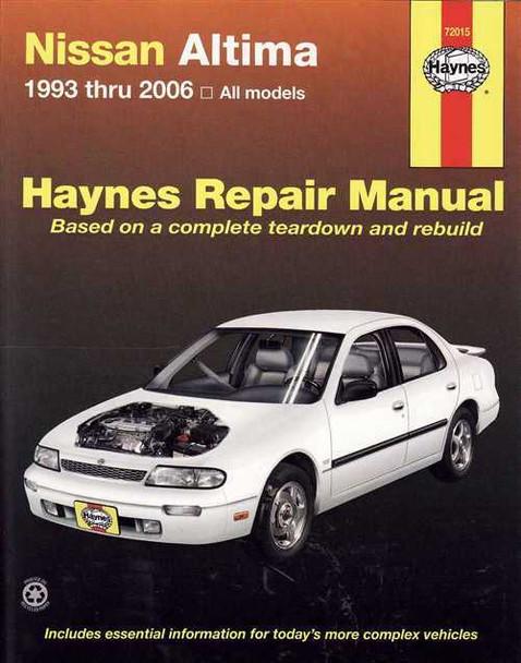nissan altima bluebird 1993 2006 workshop manual rh automotobookshop com au