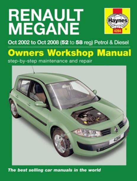 renault megane 2002 2008 workshop manual rh automotobookshop com au BMW 2 Series Convertible renault megane cabrio service manual