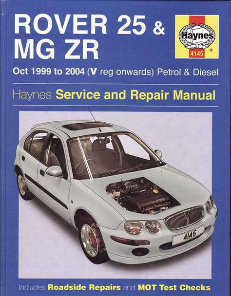 rover 25 amp mg zr 1999 2004 workshop manual rh automotobookshop com au mg zr workshop manual pdf mg zr workshop manual free download